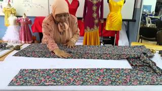 Download Teknik Menggunting Baju Kurung Tradisional Video