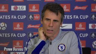 Download Zola previews FACUP & believes Chelsea need this challenge against Manchester United right now Video