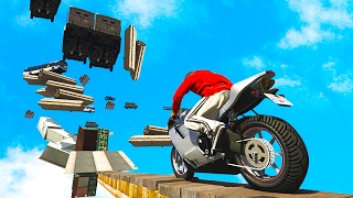 Download MOTORBIKE DEATH RUN! - GTA 5 Funny Moments #654 Video