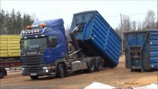 Download Scania R560 6x4 Load Exchanger Video