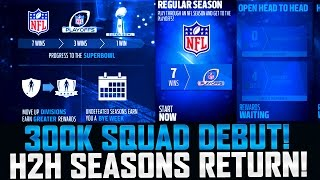 Download 300K SQUAD HEAD TO HEAD SEASONS GAMEPLAY DEBUT! | MUT 17 Video