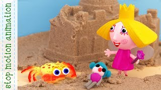 Download Crab and Holly's doll Ben and Holly's Little kingdom toys stop motion animation Video