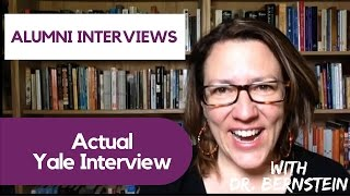 Download How to Prepare for Yale Alumni Interviews Video