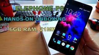 Download Elephone P8 Unboxing and First Impressions - OnePlus 5 and Vernee Mars Pro Comparison Video