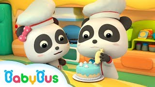 Download Fun Baby Panda Play & Learn Cake Cooking Colors Kids Game | Fun Kitchen Games For Children | BabyBus Video