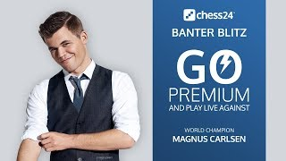 Download Banter Blitz with World Champion Magnus Carlsen (1) Video