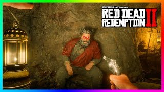 Download What Happens If You Get Up To The Devil's Hiding Spot At His Cave In Red Dead Redemption 2? (RDR2) Video