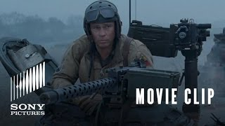 Download FURY Movie Clip: Sherman Tiger Fight Video