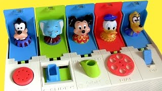 Download Disney Baby Pop-up Pals Surprise Mickey Minnie Goofy Donald Daisy Pluto Dumbo Poppin' Toy Video
