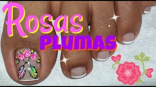 Download 🌹Decoracion de uñas Pies🌹/Nail decoration Feet/Flower Nail Designs Video