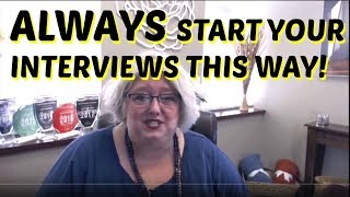 Download Job Interviewing Tips: How to Start Every Interview to Get a Job Video