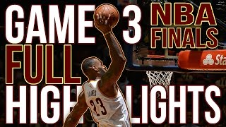 Download Warriors vs Cavaliers: Game 3 NBA Finals - 06.08.16 Full Highlights Video