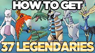 Download How to Get 37 Legendary Pokemon from Wormholes in Pokemon Ultra Sun and Moon | Austin John Plays Video