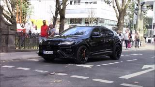 Download Lamborghini Urus drive around in Düsseldorf Video