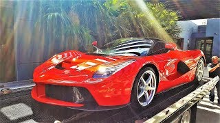 Download LaFerrari Hiding from Hurricane Irma on 58th floor. From Prestige Imports to Porsche Tower Video