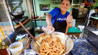 Download Philippines Food in Manila - Best BANANA EGG ROLLS (Turon) at Mang Tootz Food House! Video