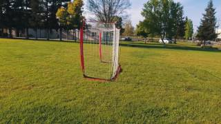 Download PowerNet Parsafoot Soccer Freestyle PowerNet 12x6 Portable Bow Style Soccer Net Video