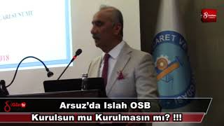 Download Arsuz'da Islah Osb Kurulsun Mu Kurulmasın Mı 14 Haziran 2018 8gunhaber 1 Video