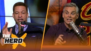 Download Chris Broussard on best fit for LeBron next season, Brad Stevens and Ben Simmons | NBA | THE HERD Video