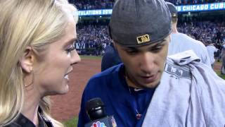 Download Javier Baez on Cubs winning World Series: 'I'm so proud' Video