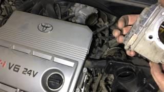 Download Моем дроссельную заслонку на Тойота Харриер 2004 года Toyota Harrier Video