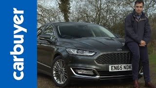 Download Ford Mondeo Vignale saloon 2016 review - Carbuyer Video