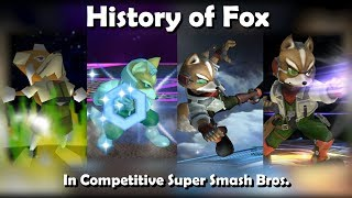 Download History of FOX in Competitive Super Smash Bros. (64, Melee, Brawl, Wii U) Video