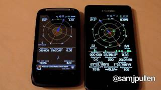 Download Samsung Galaxy S2 vs HTC Desire S - GPS Test Video