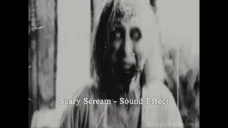 Download Scary Scream Sound Effect Video