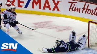 Download Jacob Markstrom Makes Scorpion Save On Ryan Nugent-Hopkins In Shootout Video