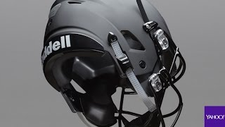 Download The football helmet of the future is here Video