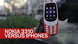 Download Nokia 3310 vs. iPhone 7 in a real city battle Video