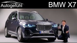 Download BMW X7 REVIEW Exterior Interior all-new 7-seater SUV - Autogefühl Video