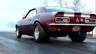 Download Mark Brown 1968 Camaro run 3 wild wheel stand Video