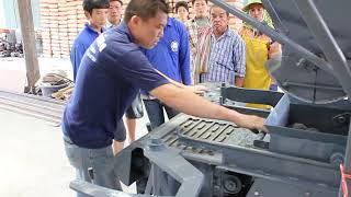 Download Hollow block Thailand : เครื่องอัดอิฐบล็อก 4 ก้อน 1/2 #โรงกลึง ศ.รุ่งเรือง #SorRungRoung Video