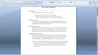Download How to write a research paper and a literature review paper Video