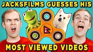 Download Can Jacksfilms Guess Jacksfilms Top 10 Most Viewed YouTube Videos? Video