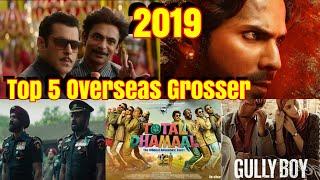 Download Top 5 Highest Bollywood Grossers In Overseas In 2019 Video