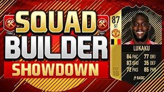 Download FIFA 18 SQUAD BUILDER SHOWDOWN!!! INFORM LUKAKU!!! IF Romelu Lukaku Squad Builder Duel Video
