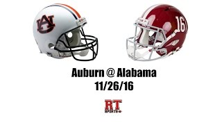 Download Auburn Tigers at Alabama Crimson Tide in 30 Minutes - 11/26/16 Video