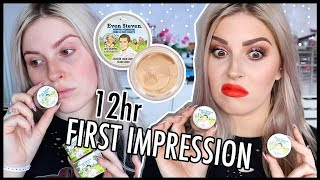 Download The Balm Even Steven (Rip Off??) 🤔 FOUNDATION FIRST IMPRESSION WEAR TEST Video