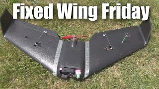 Download S800 Sky Shadow FPV wing from Banggood (flight test and summary) Video