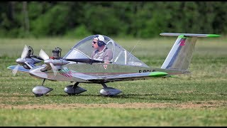 Download Smallest mini aircrafts in the world with engine and pilot Video