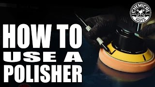 Download How To Use A Polisher - Car Detailing Basics - Chemical Guys - TORQX Dual Action Polisher Video