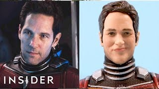Download How Hasbro Makes Action Figures Look Just Like Movie Stars Video