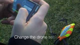 Download AndroFlight - Pilot your AR.Drone from your Android Phone Video