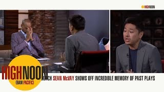 Download Pablo S. Torre is not impressed with Sean McVay's memory | High Noon | ESPN Video
