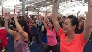 Download Bishan-Toa Payoh GRC MPs Chee Hong Tat and Ng Eng Hen dance with residents Video
