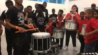 Download Bel- Aire Elementary Drum Line ″Little John″ takes on Carol City High School Drum Line Video
