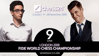 Download Carlsen-Caruana Game 9 - 2018 FIDE World Chess Championship Video